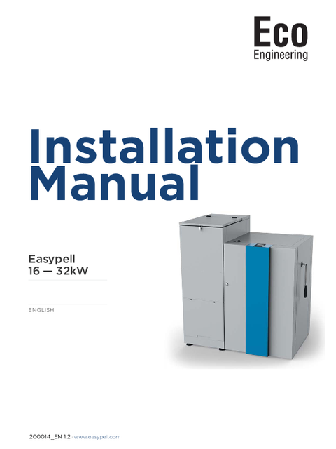 INSTALLATION MANUAL 2015-2016
