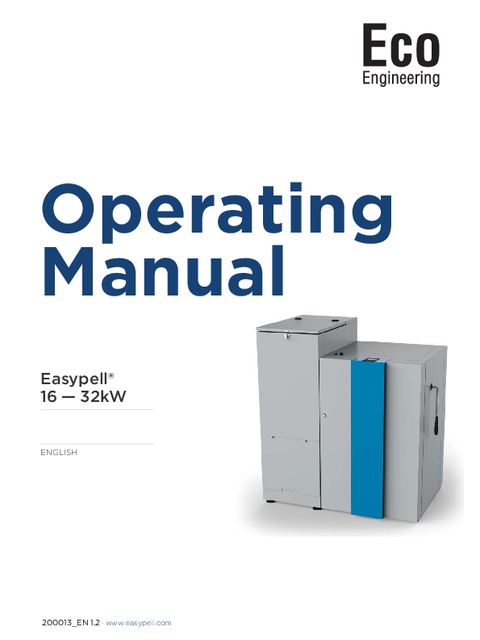 OPERATING MANUAL EASYPELL 2015-2016